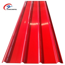 Prepainted Corrugated PPGI PPGL Iron Steel Plate Galvanized Coil For Roofing Sheet