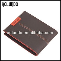China wholesale custom genuine leather wallet
