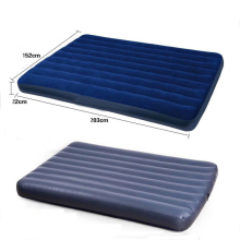 Airflow Shaped Inflatable Flocked Cair Air Bed Mattress
