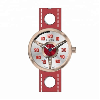 multi function sapphire crystal chronograph quartz wrist watch
