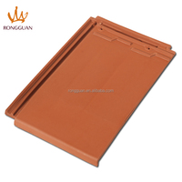 Clay material roofing tile, plain roof tile (F1-W206-3)