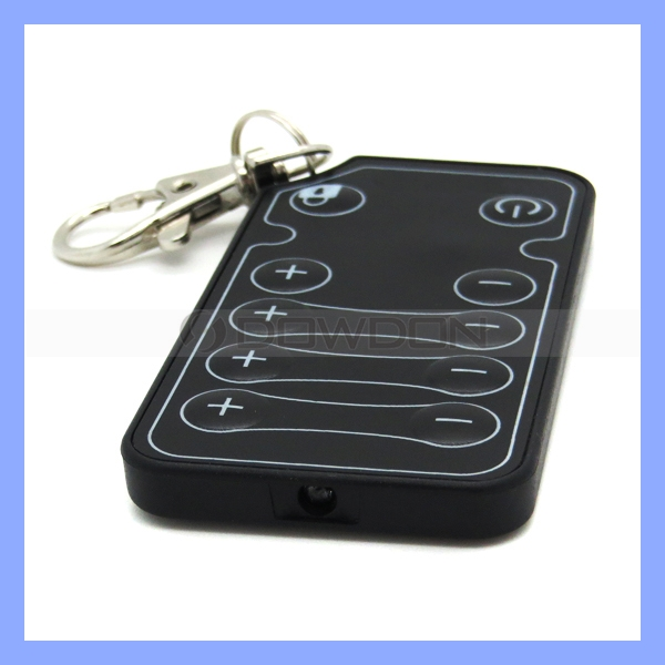 455KHz OEM/ODM 10 Key Controller Ultrathin Keychain Remote Control Switch For Car Audio DVD GPS DVR