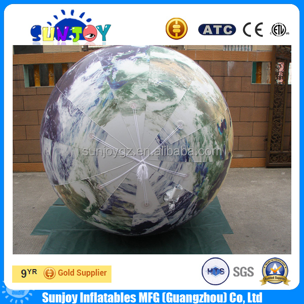 Hot Sale Earth Balloons Advertising Inflatable World Globe