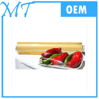 2016 Transparent clear Durable stretch food wrap plastic packaging film cling film jumbo roll pvc film wrap