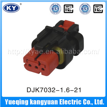 Auto wire connector,automotive electrical wire connector,3 pin male female wire connector