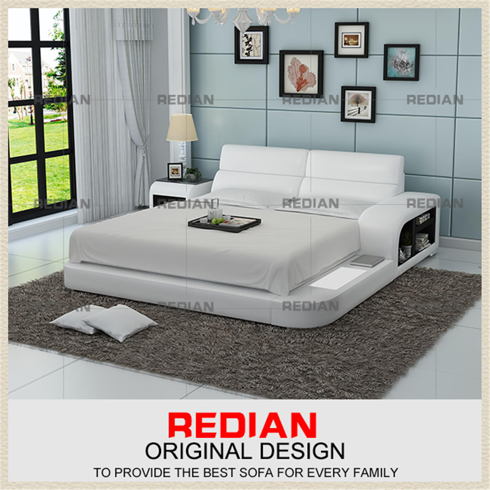Redian leisure american style leather bed