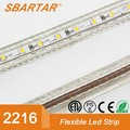 High quality led flexible strip lights 2216 China chip 5m/roll 34w 68w