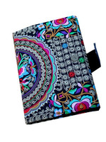 New design Hot Sale embroidery canvas drawing book cover