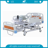 AG-BM119 medical equipment folding chair used hospital beds for sale nursing care different types of hospital beds
