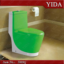 modular homes toilet,bathroom accessory, green color toilet hot sell in south africa