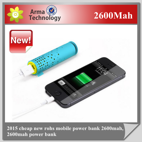 Portable Power Banks 2600mah External Battery Charger For Mobile Samsung Galaxy S3 I9300 S4 I9500