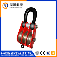 double sheave crane pulley block