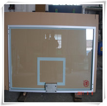 Outdoor Tempered Glass Basketball Backboard ultra clear
