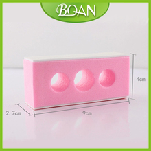 2014 Good Seller Pink Comfortable Cosmetic Nail Buffer for Using