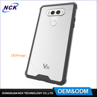 Alibaba manufacture bulk cheap soft tpu custom mobile phone case for LG V20