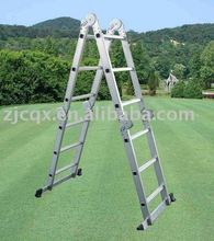 NEW 4 X 4 HEAVY DUTY ALUMINIUM FOLDING LADDER MULTI FUNCTION FOLDABLE LADDERS