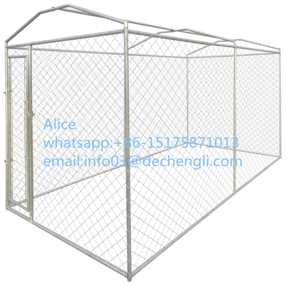galvanized metal welded wire mesh dog kennel with high quality/low price