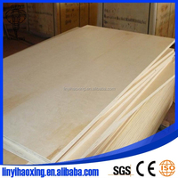 poplar core CARB P2 glue 5.2mm 15mm 18mm baltic birch plywood for USA markets