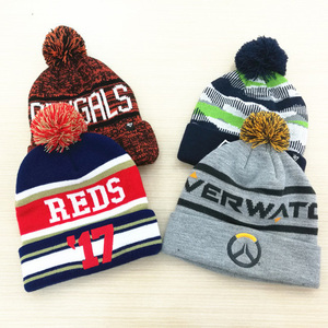 ddd0fd348d7 Knitted Factory Custom Winter Jacquard Knit Beanie Hat And Cap With Your  Own Design