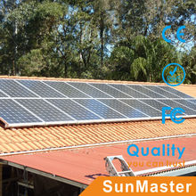 Home solar equipment 10kw on grid solar system power with photovoltaic panel