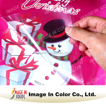 Opaque Printable Heat Transfer Material Vinyl