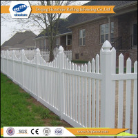 pvc garden picket recycled plastic fence posts