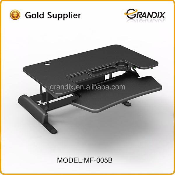 Height Adjustable Sit/Stand Desk Computer Riser Dual Monitor Capable