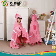 Wholesale 100% cotton baby hooded bath towel