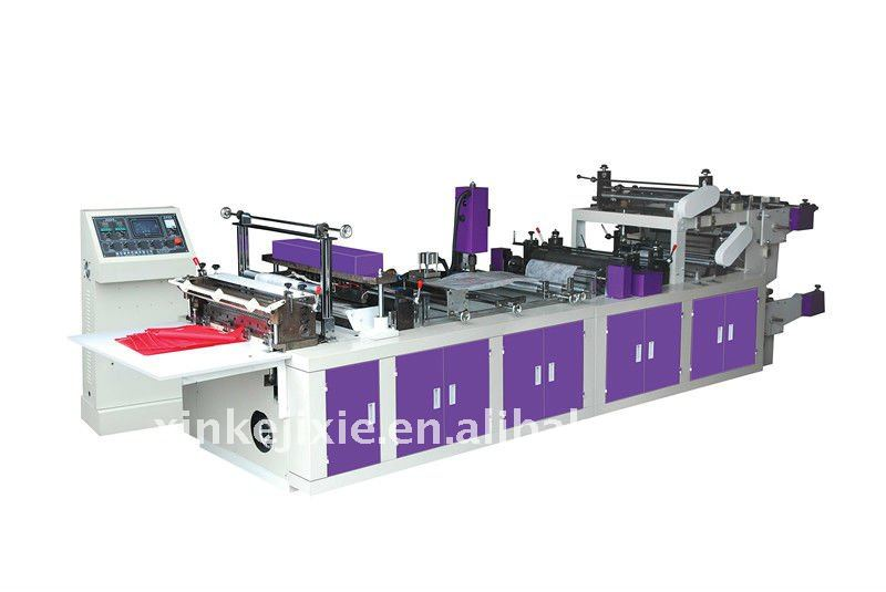 Professional Packing Manufacturer Fully automatic PP Non woven zipper bag making machine