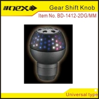 Stain with Anodize Color Procession Aluminum Multi Color Gear Shift Knob