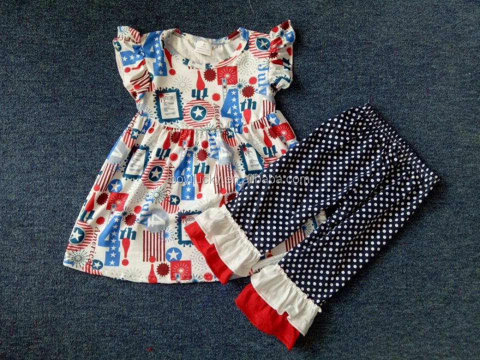 yiwu baby girl castle printed clothes 2 pieces fashion children's boutique pearl outfits giggle moon remake