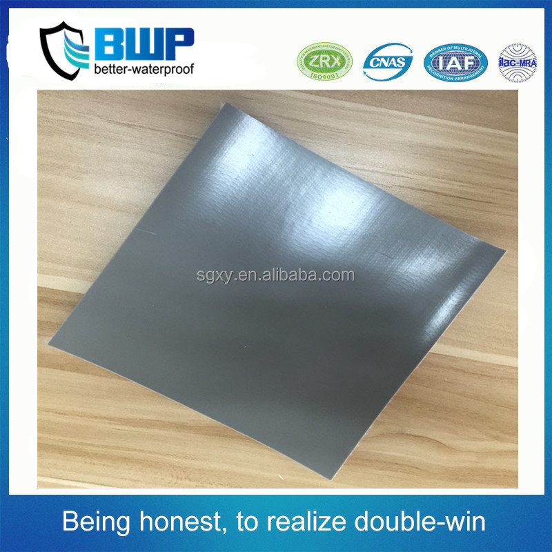 High quality roof materials 2.0mm PVC Reinforced waterproof membrane