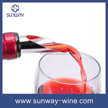 Multi-Functional Food Grade Red Wine Aerator Pourer Glass Wine Pourer