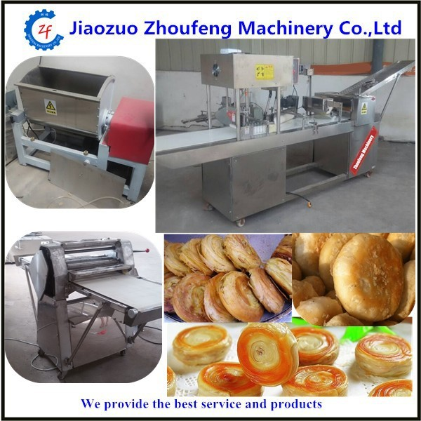 automatic roti paratha forming flat bread making machine