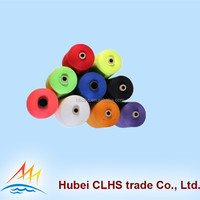 wholesale 60/2 Super Brigth 100% spun polyester yarn sewing thread