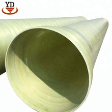 Low friction coefficient winding grp pipe for water supply