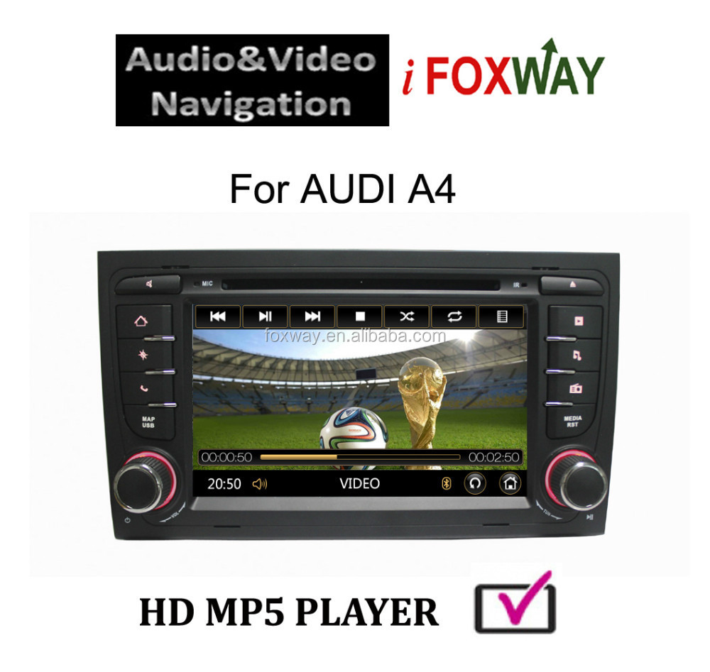 New Arrival Touch Screen DVD GPS A4 Car Multimedia
