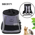 Pattern soft sided pet carrier backpack