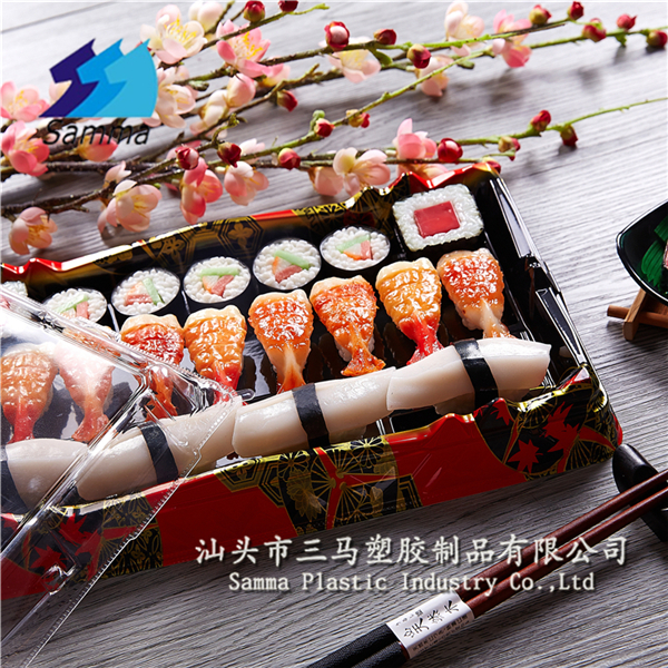 KW-0012FG-R Disposable jepenese nori sushi box