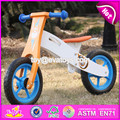 2017 New design best toddlers wooden balance bike for 2 year old W16C165
