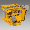QT40-3A small mobile egg laying block making machine,concrete block making machine for sale