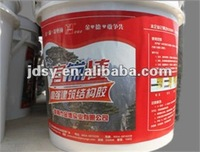 Anchorage adhesive, structural adhesive, embedded reinforced clay
