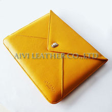 leather case with stylus holder for ipad 3