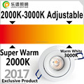 5 Years warranty dim with ELKO cob led downlight cob led driver 83mm Cutout