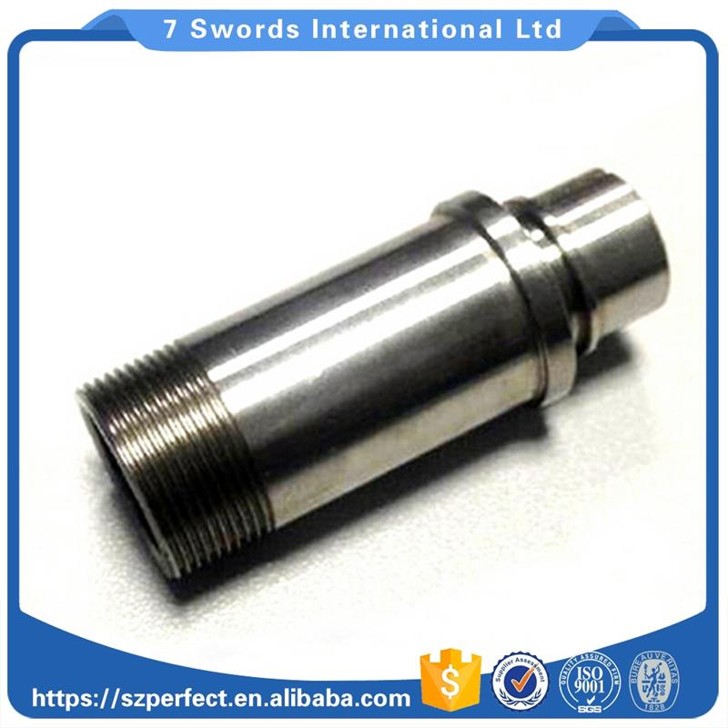 precision long shaft water treatment milling machining stainless steel parts