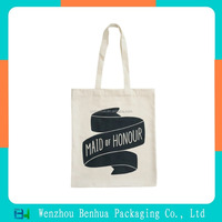 Customized Recycled Promotional Cotton shopping bag