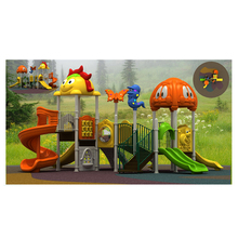 Factory outlet playground equipment metal slides for kids naughty castle large-scale outdoor