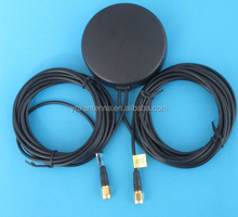 Manufacture factory supply GSM gps car roof antenna mount with RG174 Cable low price