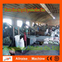 Low Cost Good Waste Tire Recycling Rubber Powder Machine