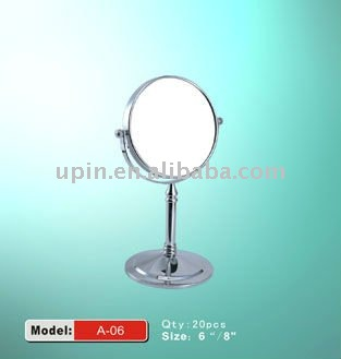both size shaving cosmetic mirror OK-06 practical utilization two sides type
